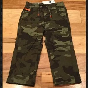 Baby Gap Boys Camouflage Lined Pants